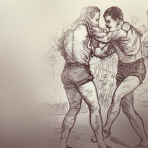 Two Collar and Elbow fighters - Health and Fitness History