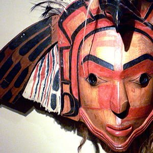 Native American Medicine Mask - Health and Fitness History