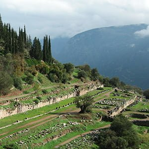 Gymnasium Ruins at Delphi - Health and Fitness History