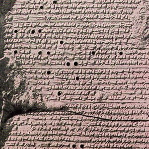 Babylonian Tablet - Health and Fitness History