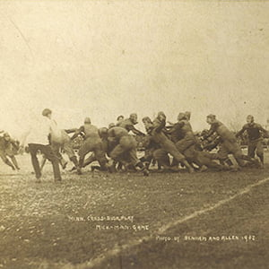 football match, Minnesota Golden Gophers vs Michigan Wolverines (1902) - Health and Fitness History