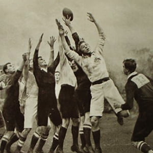 1906 rugby match - Health and Fitness History